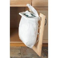 No bin garbage solution:Rack Sack Bin The Storage Shop, kitchen bins, drawer dividers & storage solutions for the home & caravan Jan