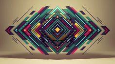 """""""Pure geometry"""" by Romanowsky by alx. short movie, which i had made by playing with different styles of animation"""
