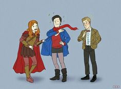 The Ponds and 11 - outfit switch!