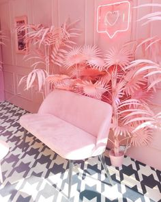 Home Decoration Themes .Home Decoration Themes Cafe Interior, Interior And Exterior, Interior Design, Beauty Salon Decor, Beauty Salon Interior, Makeup Studio Decor, Nail Salon Decor, Pink Room, Everything Pink