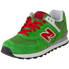 New Balance ML 574 UV green/red ★★★★★