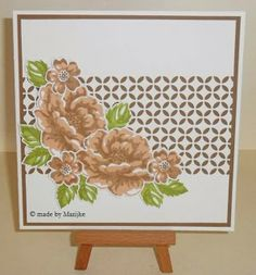 Stampin Up, Stippled Blossom