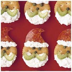 Ideias divertidas e saudáveis do alimento do Christmas para miúdos.