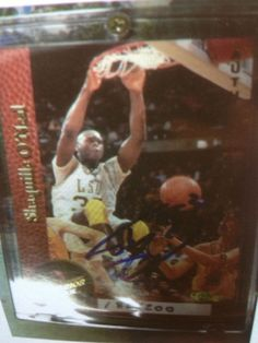 SHAQUILLE O'NEAL  AUTOGRAPHED CARD #182/200 RARE ROOKIE