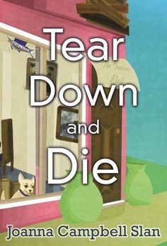 Tear Down and Die (Cara Mia Delgatto Mystery Series Book 1) by Joanna Campbell Slan, http://www.amazon.com/dp/B00H5R8LK2/ref=cm_sw_r_pi_dp_eidovb03KD76T