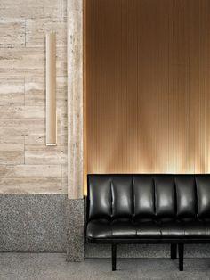 Ideas banquette seating hotel interiors for 2019 Lobby Design, Design Hotel, Restaurant Design, Lobby Interior, Interior Architecture, Interior And Exterior, Banquet Seating, Booth Seating, Commercial Design