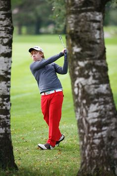 Even Ron Weasley can't resist the muggle sport of golf.