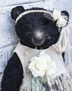 Плюшка 35см. #теддимедведи #teddybear #teddybearartist