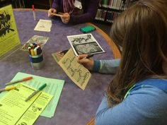 """Oskaloosa Library on Twitter: """"Teens are creating book page poetry art this afternoon in the Teen Zone! #OskyArts http://t.co/lbgzqGdrjo"""""""