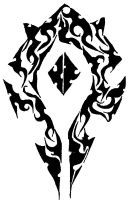 World of Warcraft Horde Tattoo Tribal Some of the best World of Warcraft Horde pics