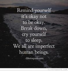 Mental Illness: Letting Someone Be Upset | People are quick to say and believe the phrase it's OK not to be OK, but being upset is often not dealt with with the same level of acceptance. www.HealthyPlace.com