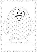 Arts And Crafts Supplies Tracing Worksheets, Kindergarten Worksheets, Worksheets For Kids, Indoor Activities For Kids, Kids Learning Activities, Prewriting Skills, Polar Animals, Preschool Writing, Pre Writing
