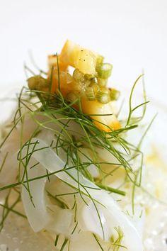 イアオリイカとフェンネルの塩レモンマリネ