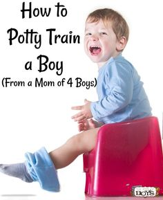 How to Potty Train a Boy (From a mom of 4 Boys!) Potty training a boy doesn't have to be stressful. These tips make potty training a boy simple! potty training How to Potty Train a Boy (From a Mom of 4 Boys) Toddler Snacks, Toddler Boys, Toddler Activities, Toddler Chores, Twin Toddlers, Toddler Behavior, Toddler Stuff, Kids And Parenting, Parenting Hacks