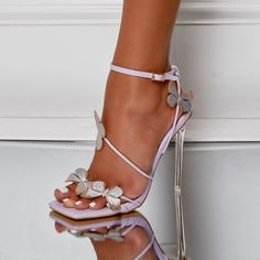 Stilettos, Strappy Heels, High Heels, Trendy Shoes, Cute Shoes, Me Too Shoes, Butterfly Heels, Ego Shoes, Cinderella Shoes