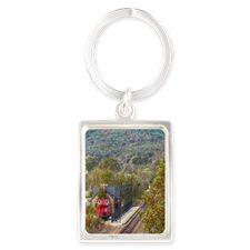 Train Station Keychains