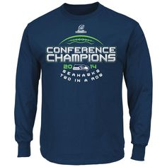 Seattle Seahawks Majestic 2014 NFC Conference Champions