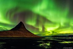 Northern light above the Kirkjufell by Francesco Mariani on 500px