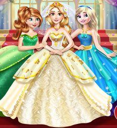 Rapunzel's+wedding+day+by+unicornsmile.deviantart.com+on+@DeviantArt