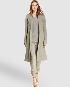 Abrigo largo de lana de mujer Polo Ralph Lauren