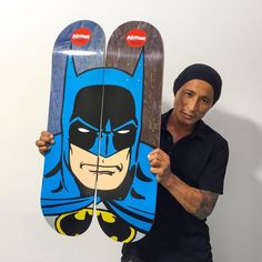 Skate decks by almostskateboards Batman