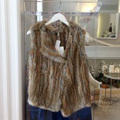 The Andoni Fur Vest