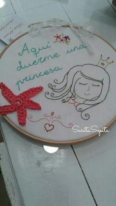 Princesita dormilona. .. :) Decorative Plates, Home Decor, Little Princess, Fabrics, Decoration Home, Room Decor, Interior Decorating