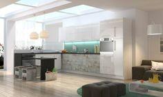 białe szafki kuchenne - Google Search