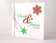 christmas wedding invitations | all day invitation evening invitation thank you card reply card order ...