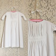 Lot of 5 Antique Victorian Baby Dresses/Christening Gowns $65.00