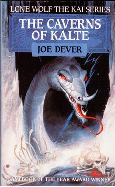 Lone Wolf The Kai Series - The Caverns of Kalte by Joe Dever - Paperback- S/Hand