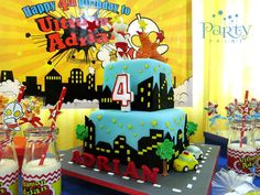 Ultraman Birthday Party Ideas | Photo 7 of 17 | Catch My Party