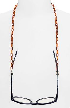 L. Erickson 'Demi' Mini Oval Link Eyewear Chain available at #Nordstrom