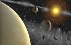 Disso Voce Sabia?: Planeta X Nibiru orbitando perto aos escombros do cinturão de Kuiper se movendo em direção à Terra