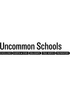 Uncommon Schools - check out the website!