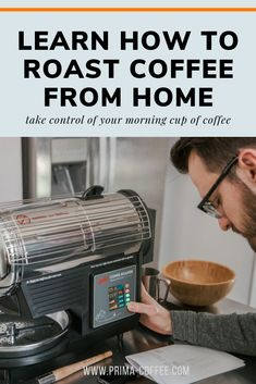 learn how to roast coffee from home, take control of your morning cup of coffee #roastcoffee #coffeeroasting #coffeeroaster #homebarista
