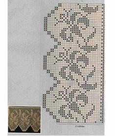 Neşe'nin gözdeleri Annie's Crochet, Filet Crochet, Crochet Stitches, Crochet Patterns, Crochet Curtains, Cross Stitch Patterns, Needlework, Diy And Crafts, Crafty