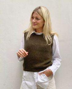 Ravelry: Stockholm Slipover pattern by PetiteKnit Stockholm, Pullover Shirt, Bind Off, Knit In The Round, Work Tops, Knit Vest, Stockinette, Summer Shirts, Slow Fashion