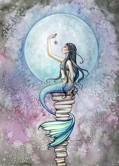 """Magic"" Mermaid Art by Molly Harrison by Molly Harrison"