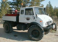 Wildland Fire Trucks | Mercedes Benz Unimog wildland fire truck