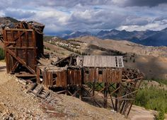 idaho, central idaho, ghost town, ghost towns, mining, old mines ...