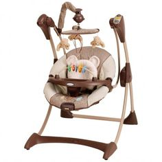 CLASSIC POOH Silhouette™ Infant Swing from Graco