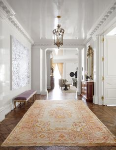 Weight Loss Plans At Home House Tour Turtle Creek Dallas Texas.Weight Loss Plans At Home House Tour Turtle Creek Dallas Texas Stair Gallery, Modern Hallway, High Gloss Paint, Photo Instagram, Best Interior, Interiores Design, Architecture Details, Interior Architecture, White Walls