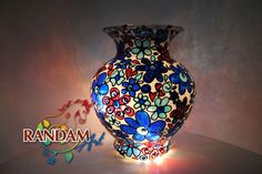 Hand-painted. Stained Glass. Tiffany Style Mosaic by RandamArt