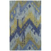 Found it at AllModern - Casual Castaway Blue Area Rug