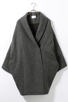 REALITY STUDIO Wool Cocoon Volume Coat◆