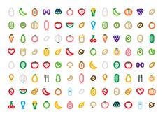 Logotipo e íconos para nutrióloga