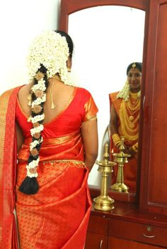 On my wedding...South Indian (Kerala) Bride.. :)