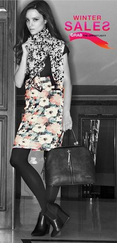 DOCA FW2014/15 Sales Grab the opportunity with sales up to 70% Skirt with floral print available at DOCA Shops & Online: http://www.doca.gr/el/online-shop/prosfores/royxa/foystes/36443-fousta-floral-detail.html  #doca #sales #skirt #floralprint #fw201415Collection