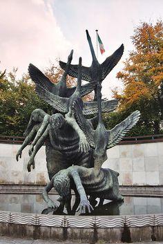 Dublin Landmarks - Children of Lir (War Memorial Gardens)